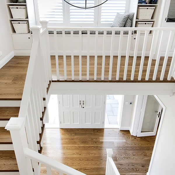 hampton style timber balustrades