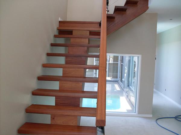 mono stringer staircase
