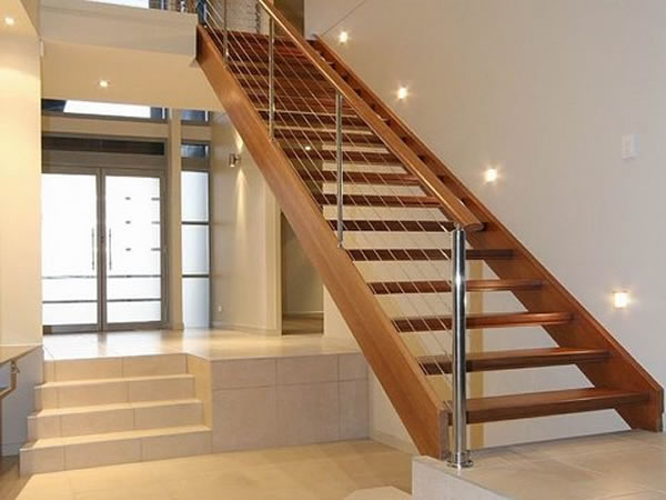 open housed stair
