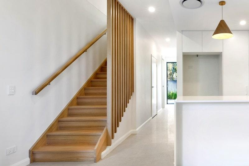 Closed Stairs Screen Balustrade Queensland