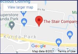 The Stair Company location Kunda Park Sunshine Coast